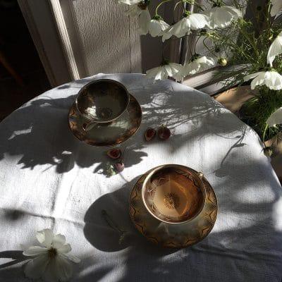 Tisane artisanale calmante et digestive avec son délicat parfum de lavande